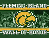 "Fleming Island High School ""Wall of Honor"" Wall Clings"