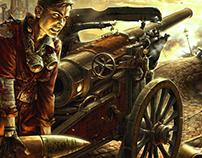 Duel (CG illustration)