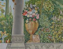 Mural painting / Trompe l'œil