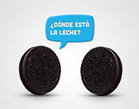 Oreo advertising campaign in Perú