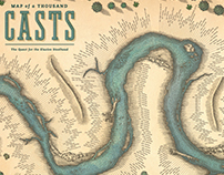 """YETI """"Map Of A Thousand Casts""""by Steven Noble"""
