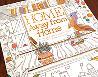 Home Away from Home - Adult Coloring Book