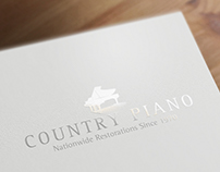Logotipo Country Piano
