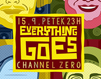Poster design for Everything goes