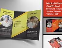 Medical & Health Care Tri Fold
