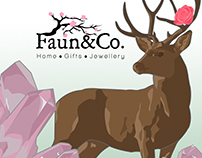 Faun and Co. Branding