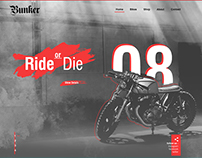 Bunker - Consep Motocycle Web Site