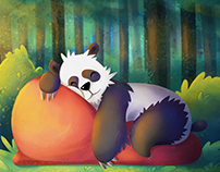 Sleepin Panda
