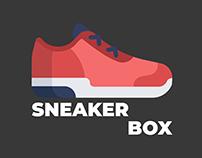 SNEAKERBOX - Дизайн сайта открытия кейсов.