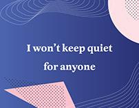 Quiet: Social Justice Instagram Campaign