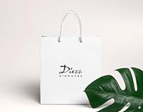 Diezz diamonds & jewelry branding (logo & package)