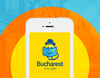 Bucharest City App | Promotional materials
