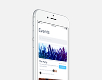 Daily UI - Events Feed