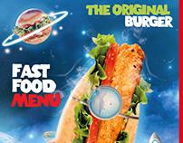 Foody Rocket Menu Ads