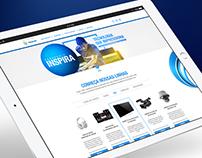 Panasonic Inspira - Website