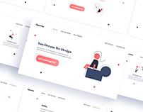 Opuntia Studio Website (UI Design)
