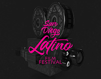 Poster San Diego Latino Film Festival 2017- Proposal