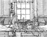 Mentha Spicata El Corazon! Book Illustrations