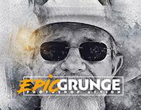 Epic Grunge Photoshop Action CS3+