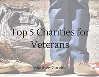 Top 5 Charities for Veterans