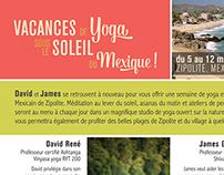Vacances de yoga