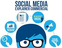Social Media Explainer Commercial