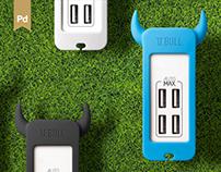 U.BULL 4 USB Charging Hub