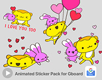 Animated Sticker Pack for Gboard
