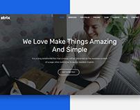 Strix - Creative Website