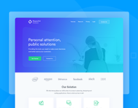 Digital Agency- Website Design Concept