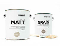 Promac Paints Rebrand