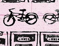 Bike Stamp Pattern