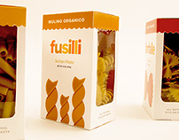 Packaging Design: Mulino Organico pasta