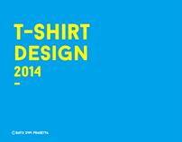 T-SHIRT DESIGN throughout 2014