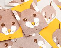 庚子年|鼠年賀年卡 2020 RatYear Card