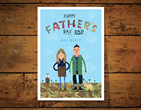 Nigel Cabourn Father's Day card