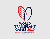 World Transplant Games branding