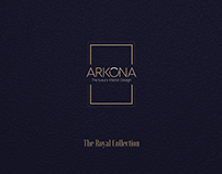 Brochure Design for ARKONA Interiors