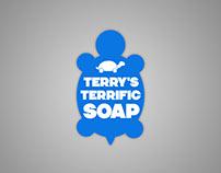 Terry's Terrific Soap - Branding