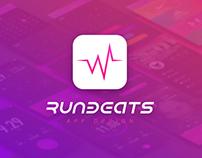 RunBeats App Design
