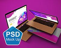 Foating MacBook Pro