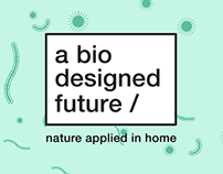 A Biodesigned Future