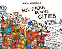 Southern Europe Cities coloring book