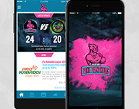 Jaipur Pink Panthers - Official Mobile App