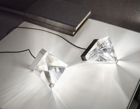 FABBIAN - Tripla - Crystal lamp