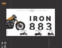 Harley Davidson | Redesign