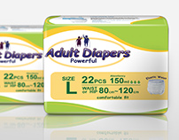Design Adult Diapers