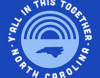Y'all in this Together NC Tee
