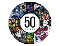 50 Flyers Templates