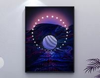 Poster Design - Quantum Physics, Wave-Particle Duality